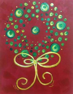 1000 images about paint night ideas on pinterest for Christmas art painting ideas