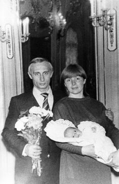 Vladimir Putin has two daughters but their lives are kept a total secret. They attended college under assumed names and their professions and countries of residence are not known.