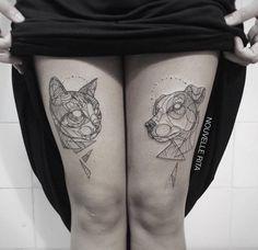 tiny animal tattoos | Artistic Animal Tattoos – Fubiz Media