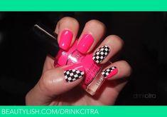 Checkered and pink   Traci S.'s (drinkcitra) Photo   Beautylish
