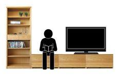 ドロワーベンチの活用方法!本棚+ベンチ+テレビボードを組合せることで読書スペースをリビングに提案 | 家具なび ~きっと家具から始まる家づくり~