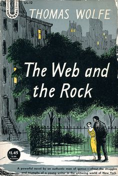 The Web and the Rock by Thomas Wolfe; cover by Edward Gorey