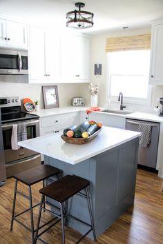 Two Tone Modern Kitchen Remodel