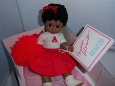 Madame Alexander African American Cheerleader Doll by SylviasFinds, $25.00