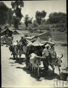 Mass migration during independence of India in 1947 Part-1 - Old Indian Photos