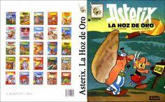 Imprimible Asterix - 03 - Asterix y La Hoz De Oro