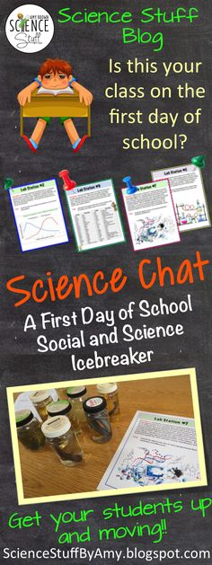 Science Stuff Blog:  What are you doing on the first day of school???  The first day is important so make it a great day!