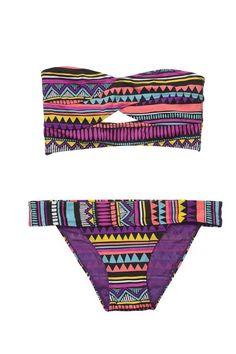 Bandeau primark tribal #bikini #primark