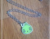 Five Nights at Freddy's Chibi Chica the Chicken Head Necklace