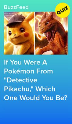 Are you more of a Psyduck or a Ditto? Pikachu, What Pokemon Are You, Buzzfeed, Pokemon Quiz, Quiz Me, Comic Strips, Hilarious, Teddy Bear, Humor