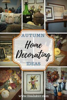 Fall Decorating!  Fu