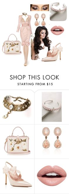 """""""Pink Office Chic"""" by charlie-aw-easter on Polyvore featuring Alexander McQueen, Alexandre de Paris, Dolce&Gabbana, LE VIAN, Kate Spade and Nevermind"""
