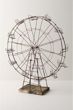 Wire Ferris Wheel Reserved for B and R par sparkflight sur Etsy