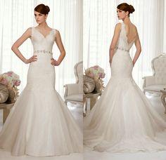 Para as noivas: os vestidos Essense of Australia - Esta na Moda