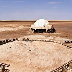 Eerie Pics Show Tunisias Abandoned Star Wars Sets