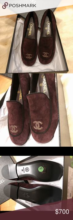 💯 AUTHENTIC CHANEL LOAFERS $500 thru PP   Chase   BOA   Facebook 100% Authentic  Purchased from Saks Fifth Avenue  Comes with Box and Dustbag Size 36 All shoes in the last picture are for sale as well. Please feel free to check out my other listings.  All sales are final. No return or exchange.  Once offer is accepted the item is YOURS! Thank you Happy Shopping! CHANEL Shoes Flats & Loafers