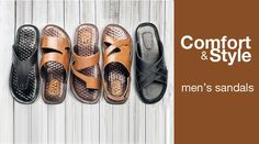 Check out our #collection of #stylish and comfortable #sandals for men. >> http://hytrend.com/men/shoes/sandals.html