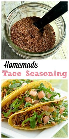 Skip the expensive store-bought taco kits and make your own homemade taco…