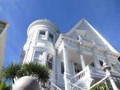 Image result for san francisco white victorian mansion