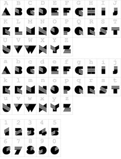 Tipos de letras Fuentes Retro Aldasin
