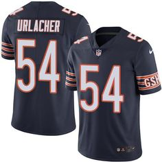 Nike Bears #54 Brian Urlacher Navy Blue Team Color Youth Stitched NFL Vapor Untouchable Limited Jersey