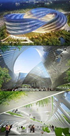 The Swallow's Nest design by Vincent Callebaut #architecture ☮k☮