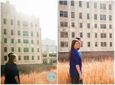 Downtown Kansas City Engagement, Rooftop garden, Kansas city wedding photographer; Meagan and Nate Photography