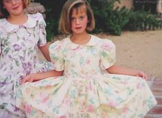 Young Katy in a Cute Dress