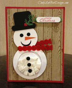 Snowman Treat Cup