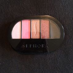 Sephora Pink Shadow Pallet New Pink Shades Sephora Palette. Colorful 5: sweet to passionate pink. Brand new. Sephora Makeup Eyeshadow