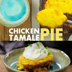 Two scrumptious meals collide to create this Hen Tamale Pie! Bake in a forged-ir.... ** Find out more by going to the picture