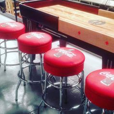 Friday night - the bar stool's calling @cocacola!