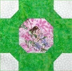 Folktale Circle: FREE Ireland-Themed Quilt Block Pattern