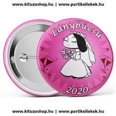 Menyasszony lánybúcsú kitűző 2020 fekete