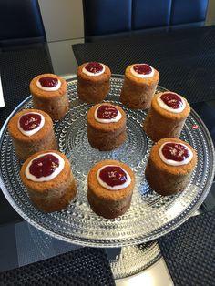 Runebergin tortut! Muista kostuttaa runsaasti- tietysti Disaronnolla:) Cheesecake, Muffin, Breakfast, Desserts, Food, Cheesecake Cake, Muffins, Postres, Deserts