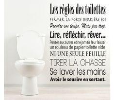 Les règles des toilettes