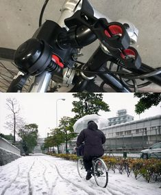 Umbrella holders on bikes, so you can cycle with both hands on the handlebars when it is raining and not get wet. Umbrella Holder, Rest Of The World, Getting Wet, Life Hacks, Sunrise, The Incredibles, Earth, Bike, Japanese