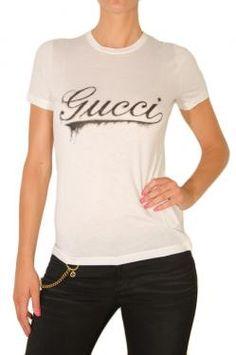 GUCCI SHORT SLEEVE T-SHIRT WITH GUCCI PRINT