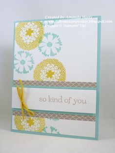 CAS Petal Parade by mandypandy - Cards and Paper Crafts at Splitcoaststampers