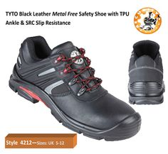 buy online 1a2d8 88589 4212 TYTO Black Safety Shoe