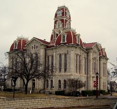 Weatherford Courthouse! I love old courthouses.