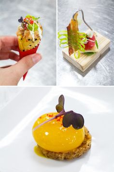 Carnival Foodie Cruise - Chef's Table Amuse-Bouche