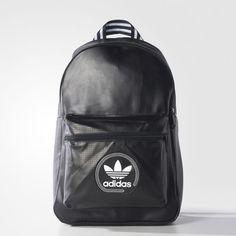 1ed29242885 Adidas Unisex Original Classic Perforated Backpack 43 x 25 x 13 cm