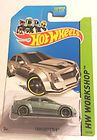 Cadillac CTS-V * SILVER kmart only * 2014 Hot Wheels * New B Case