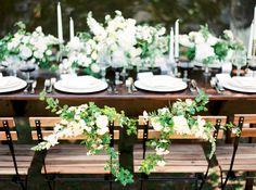 Réussir le plan de table de son mariage - La mariée aux pieds nus - Photo : Brancoprata   la mariee aux pieds nus