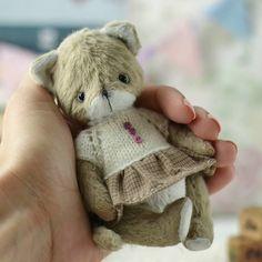 Items similar to Teddy Cat inches Little kitty toys Stuffed Animal Soft toy artist teddy Christmas gift on Etsy Teddy Toys, Teddy Bear, Little Kitty, Cat Toys, Christmas Gifts, Bunny, Etsy Shop, Cats, Creative