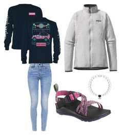 """""""Everyday outfit:)"""" by legitmaddywill on Polyvore featuring Patagonia, G-Star and Chaco"""
