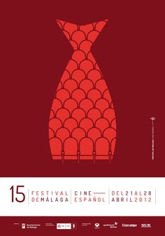 Awesome Film Festival Posters for 2012 Malaga Film Festival 2012 Poster