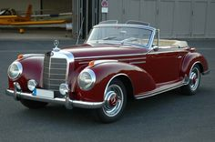 I have always wanted one of these, Mercedes-Benz 300 Convertible. Mercedes Benz 300, Retro Cars, Vintage Cars, Antique Cars, Automobile, Mercedez Benz, Daimler Benz, Roadster, Classic Mercedes