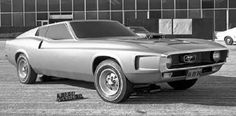 1971 Ford Mustang Design Concept...